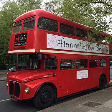 Afternoon Tea Bus | London